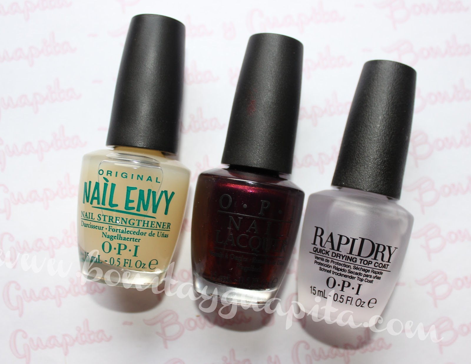 every month is oktoberfest nail envy rapidry top coat OPI