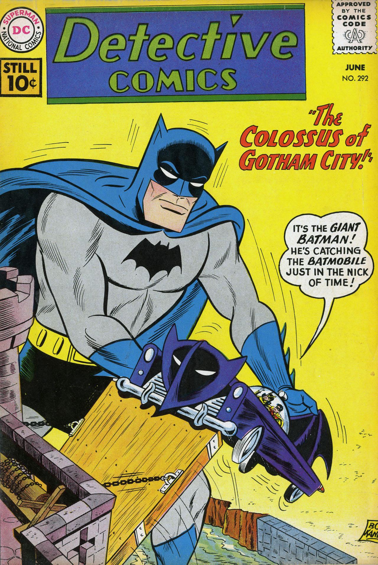 Detective Comics (1937) 292 Page 1