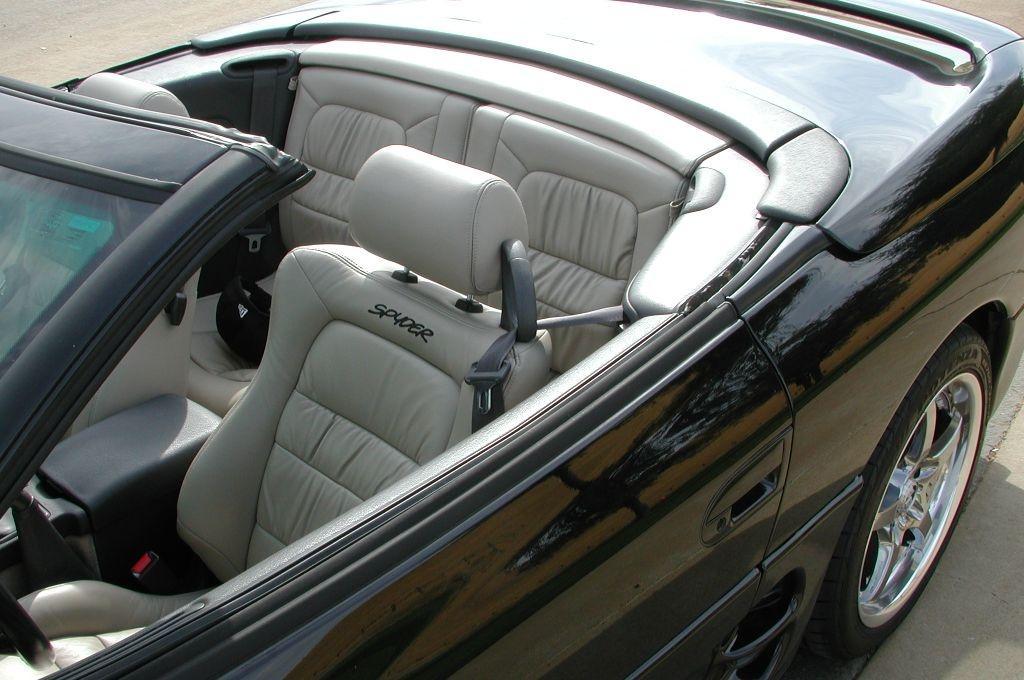 Mitsubishi 3000GT Spyder, wnetrze, interior