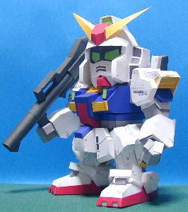 RX-178 Mk-II Gundam Papercraft