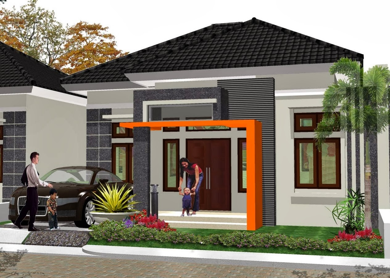 Model Rumah Minimalis Type 60 terbaru