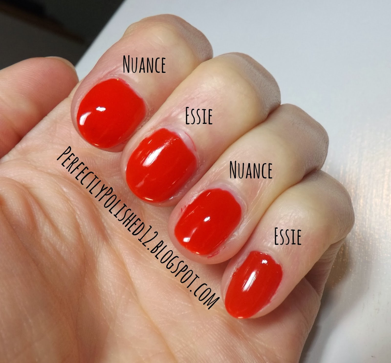 Perfectly Polished 12: Dupes: Nuance\'s \