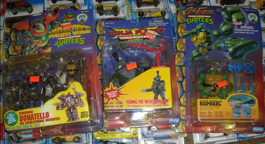 Toys And Treasures : Toys and treasures tmnt for