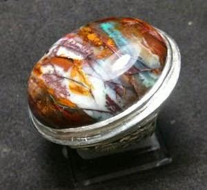 Batu Akik Garut Edong Panca Warna