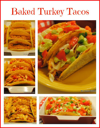 Baked Turkey Tacos