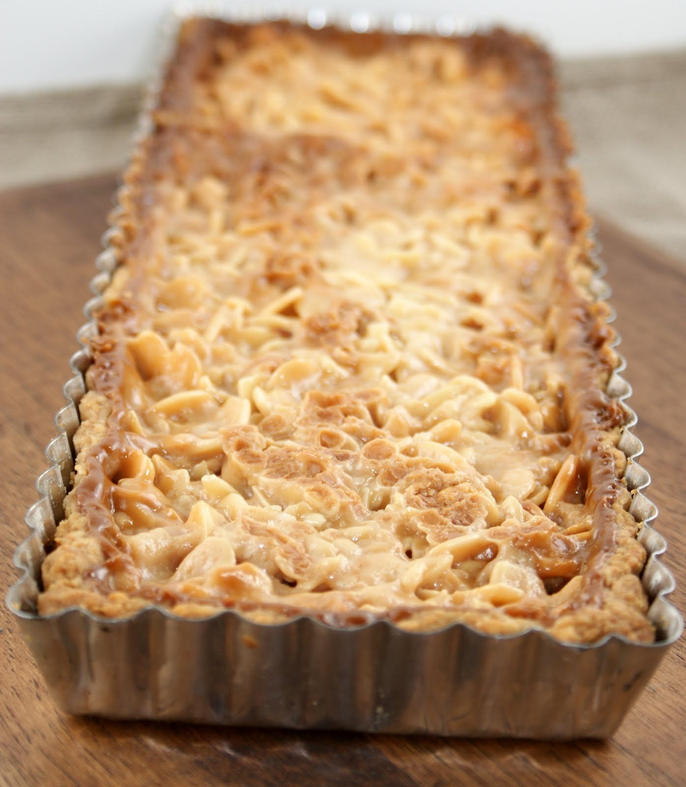 Authentic Suburban Gourmet: Ultimate Almond Tart Almondy Taart