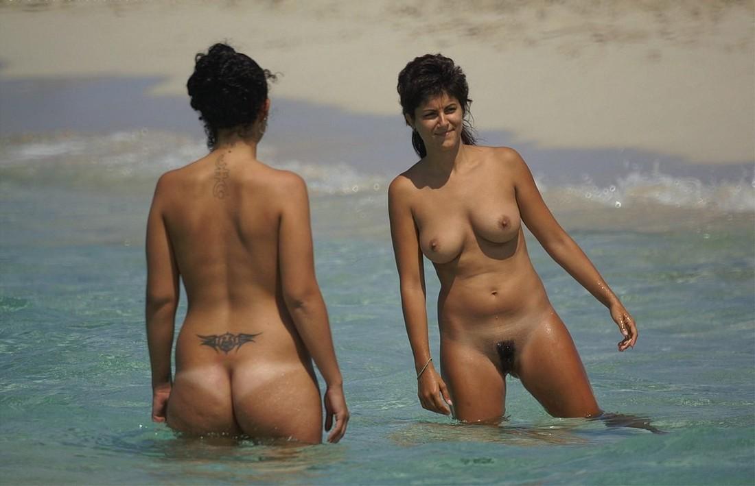 nude beach post pounding my busty white