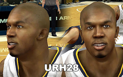 NBA 2K13 David West Cyberface Patch