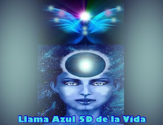 Para mí es un placer estar con cada uno de Uds. en este día para ayudarlos en sus viajes, por eso hoy me referiré a la utilización de la Llama Azul 5D de la Vida.