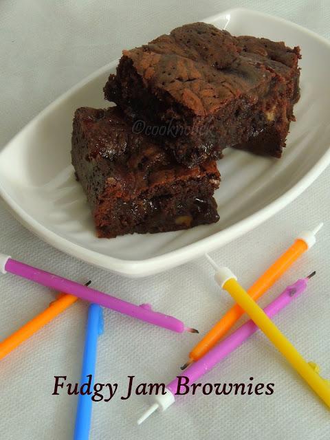 Jam fudgy brownies, Fudgy Brownies