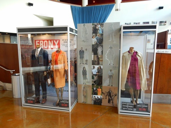 Selma movie costume exhibit