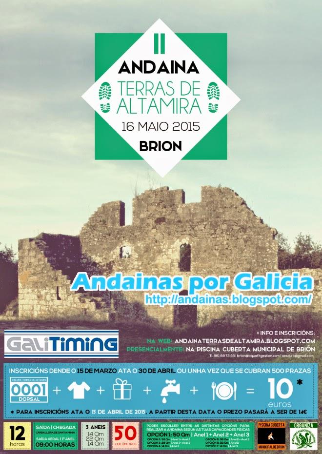 Andainas por galicia ii andaina terras de altamira bri n for Piscina brion