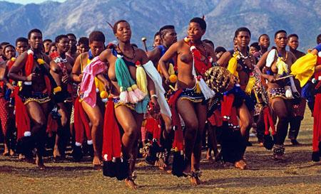 Phong tục kiểm tra trinh tiết độc đáo ở đảo Zulu 7