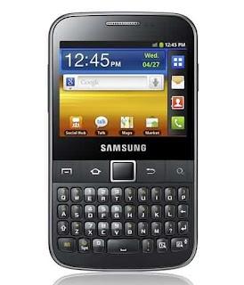 New SAMSUNG Gadget - Galaxy Y Pro B5510