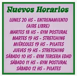 Horarios de Clases 2014