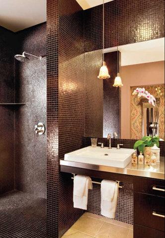 Boiserie c trasformare il bagno in una spa in 8 mosse - Bagno stile spa ...