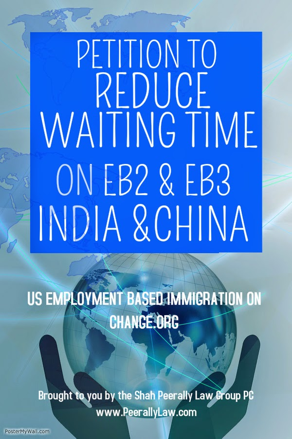 https://www.change.org/p/reduce-eb2-india-barack-obama-congress-u-s-house-of-representatives-department-of-homeland-security-united-states-department-of-state-reduce-the-waiting-time-on-india-immigration-eb2-and-eb3-categories