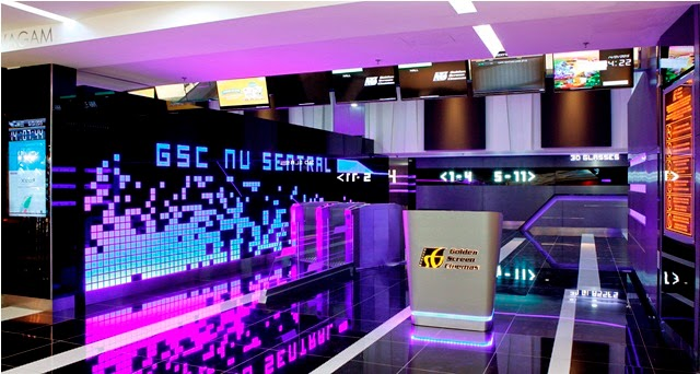 GSC Nu Sentral mall cinema