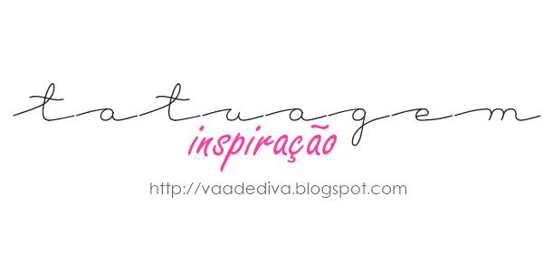 INSPIRAÇÃO - Tatuagens delicadas.
