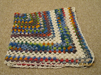 Win this blanket made by me on Nayu's Crochet Dreams!