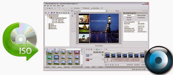 Make HD video films from ISO files using Sony DVD Architect