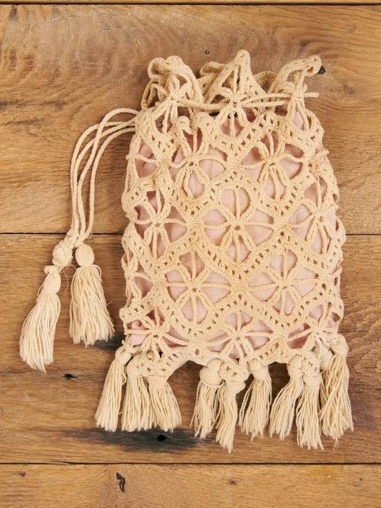 Prendas Tejidas a Mano: Bolsos tejidos en Crochet