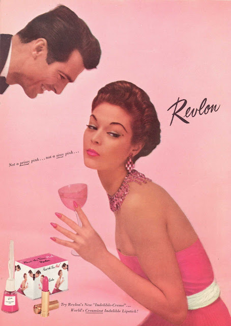 1950s Revlon lipstick Just Peachy, Darling