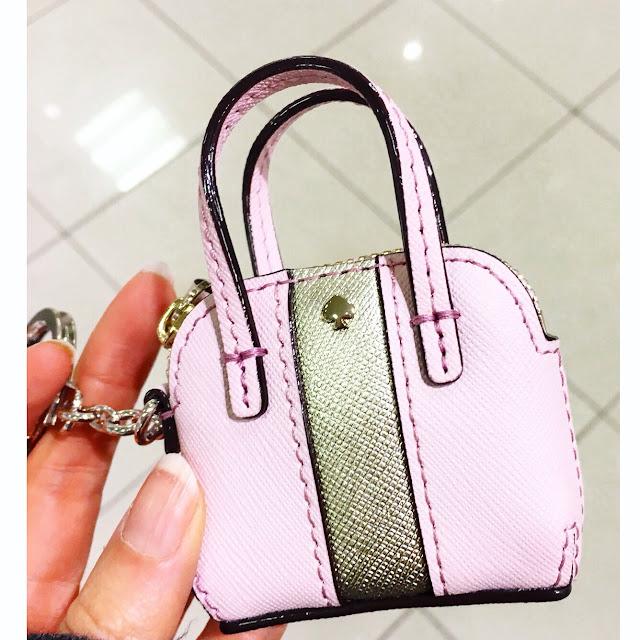 Kate Spade Bag Keychain