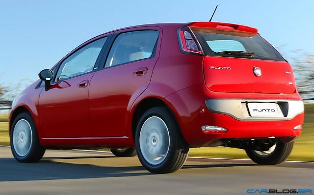Fiat Punto Essence 1.6 16V 2013 - vermelho