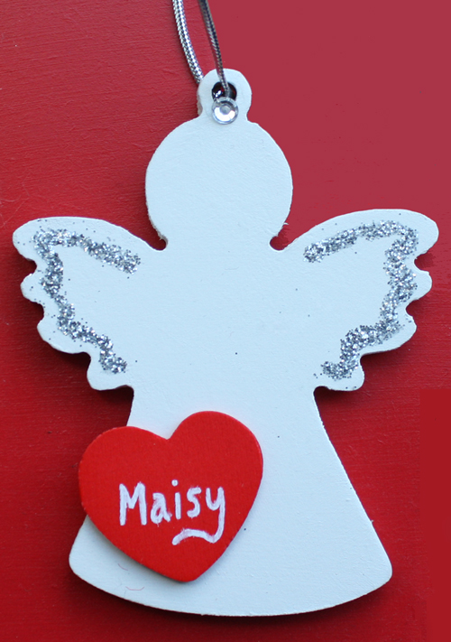 personalised angel tree decoration - Handmade Angels Christmas Decorations