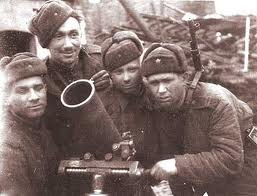 WW2 group Soviet Soldiers