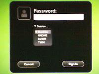 openSUSE 12.2 Manokwari GDM BlankOn