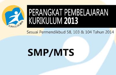 RPP SMP Seni Budaya Kelas VII Kurikulum Nasional