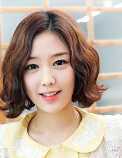 short korean curly hairstyle korean curly hairstyle for short hair