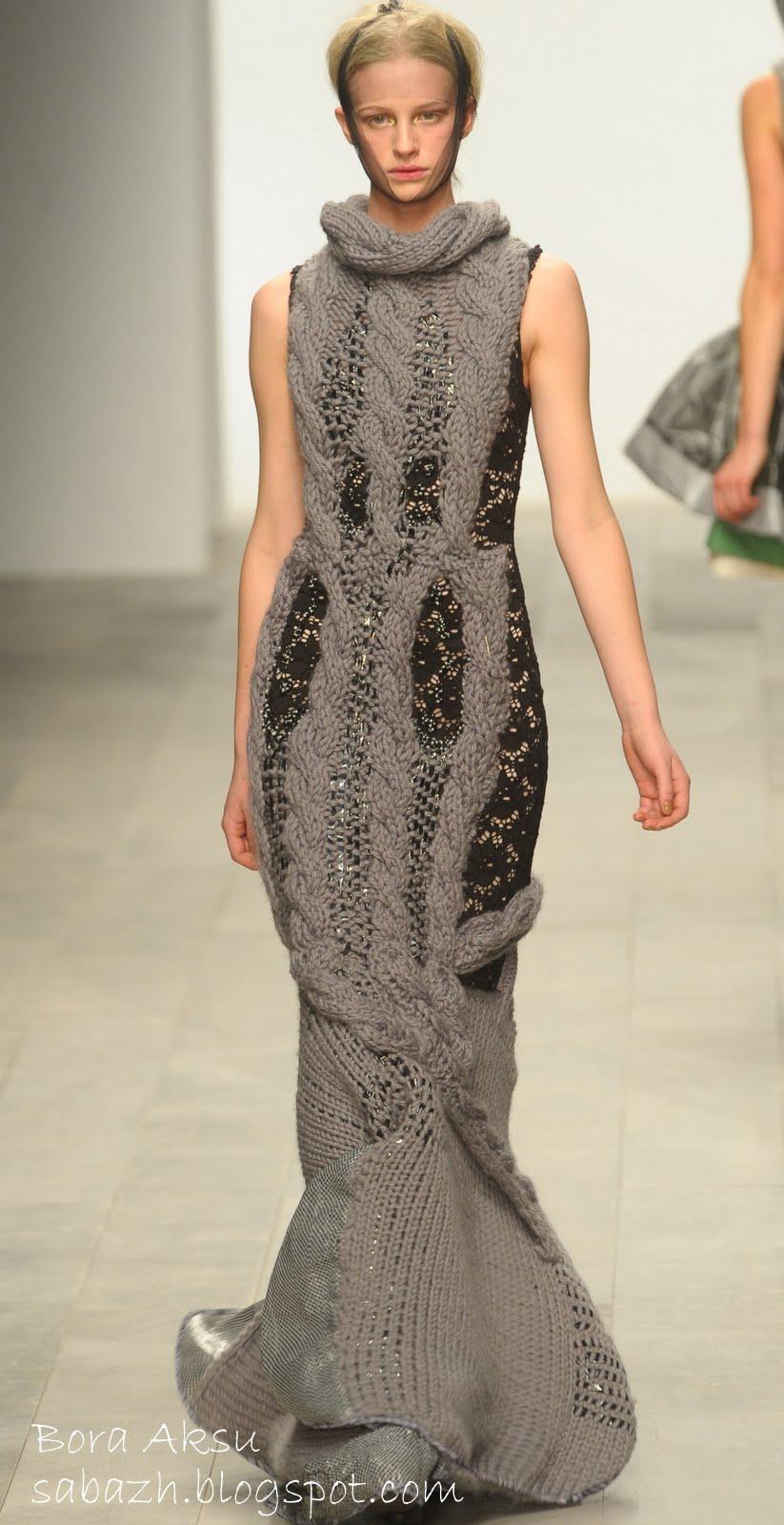 2012 вязаны платья