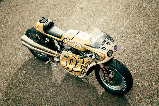 "Harley Sportster Roadracer ""Iron Lung"" 