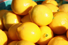 Winter treat:  meyer lemons