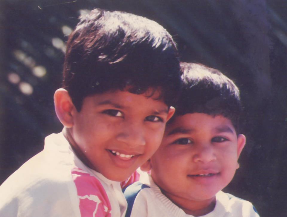 Actor Allu Arjun Childhood Pics Mere Pix