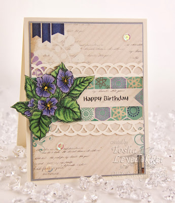 Stamps - Our Daily Bread Designs Violet, All Occasion Sentiments