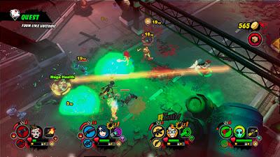 AZMD (All Zombies Must Die!): Scorepocalypse Screenshots 2