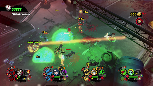 AZMD (All Zombies Must Die!): Scorepocalypse Screenshots 2