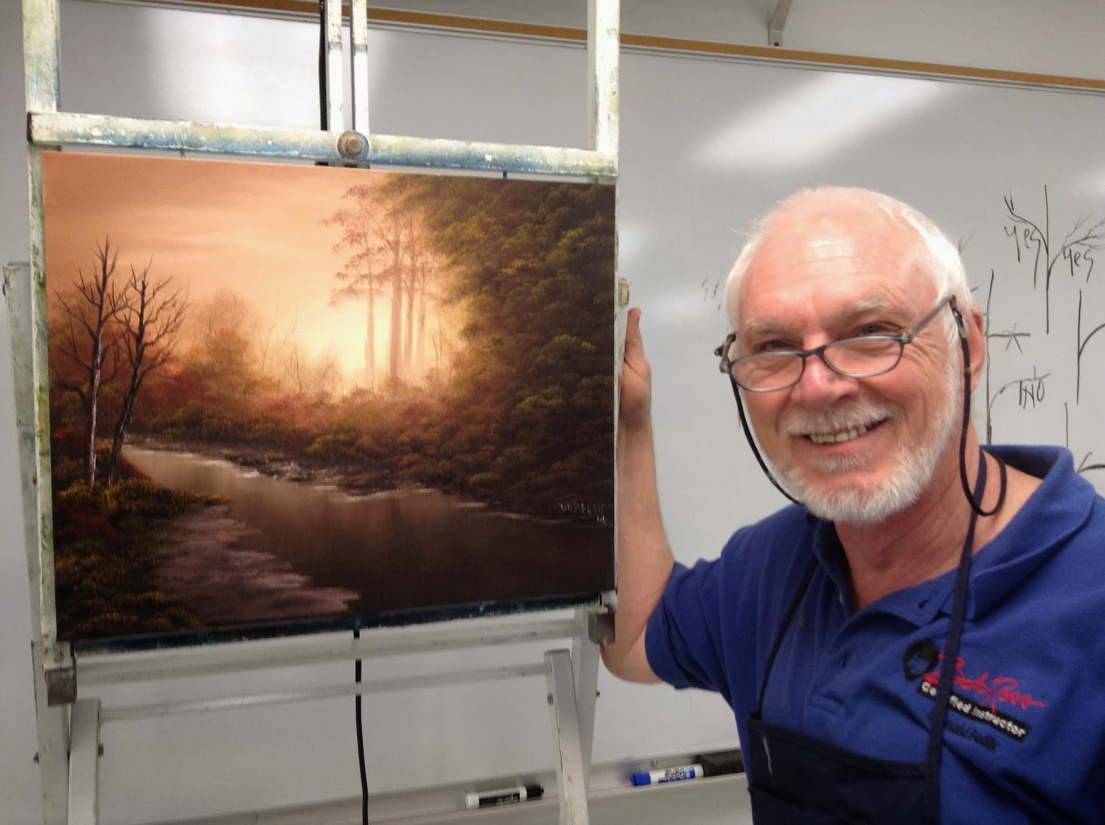 Don Belik Bob Ross Painting Classes