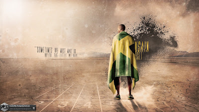 Usain Bolt 2012 Olympics HD Wallpaper