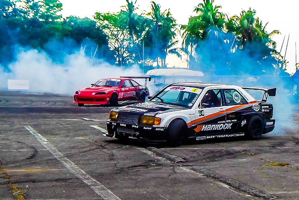Drift Drivers Competed At Hyundai Lateral Drift Round Round