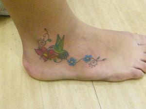 Imagens e fotos de Tatuagens no Pé