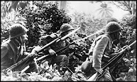 Japanese soldiers in the jungle