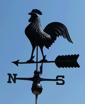 gallo lampadari : Almanacchiamo, ovvero lArruffaveglie!: Il gallo di ferro battuto di ...