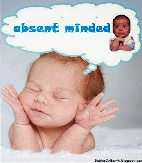 absent minded