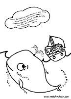 comptine illustrée c'est la baleine