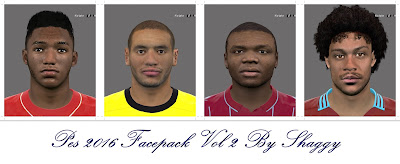 Pes 2016 Facepack Vol 2 by Shaggy